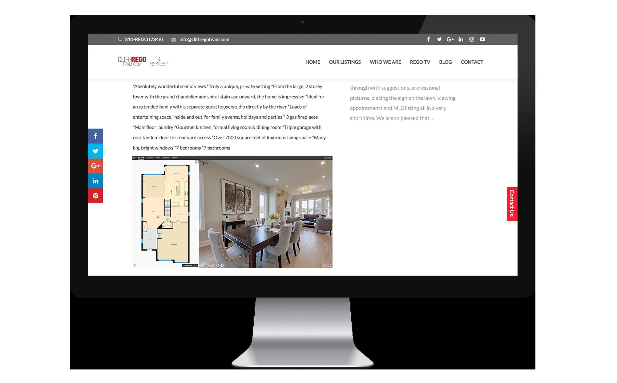 Real Estate iGuide Virtual Tour